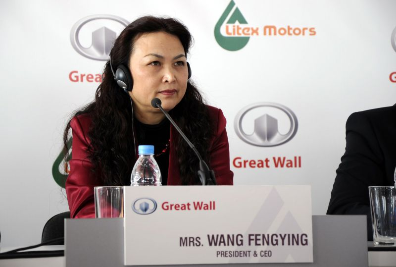 Президентът на Great Wall Motorsл