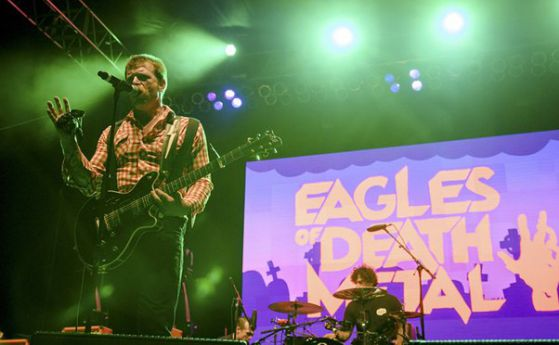 Eagles of Death Metal с концерт в Париж утре