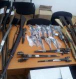6191 оръжия и боеприпаси без разрешения отнела прокуратурата