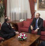 Президентът Радев се срещна с посланика на САЩ у нас Ерик Рубин