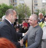 Радев се срещна с българина, който лежа 7 г. в гръцки затвор за неизвършено убийство (снимки)