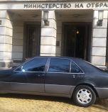 Каракачанов отказал нов мерцедес, возят го с най-стария