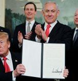 САЩ признаха суверенитета на Израел върху Голанските възвишения