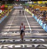 Белгиецът Де Хенд спечели осмия етап на Тура, Алафилип отново пое лидерството