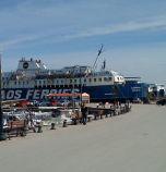 Пожар на Самотраки, хиляди туристи блокирани на острова без ферибот