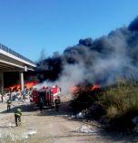 Пожар в сметището на Дупница, обявиха частично бедствено положение (обновена)