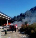 АМ Струма остава затворена край Дупница, мостът е пострадал сериозно от пожара