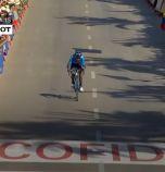 Найро Кинтана бе най-бърз във втория етап на Вуелтата