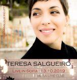 Teresa Salgueiroпредстави нов сингъл и клип, броени дни преди премиерния си концерт в София
