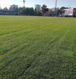 Завърши полагането на новото тревно покритие на терен 2 на Герена