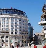 Забраниха на македонците да излизат от вкъщи събота и неделя (видео)