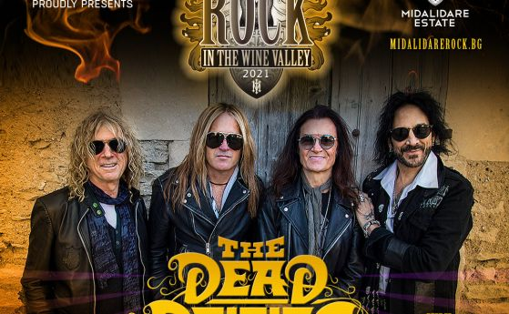 The Dead Daisies с Глен Хюз потвърдиха участието си на Midalidare Rock in the Wine Valley 2021