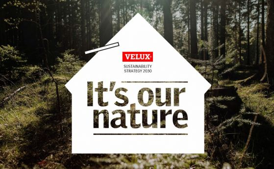 VELUX Group се ангажира да намали своите бъдещи въглеродни емисии