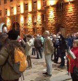 Ден 80: Протестът продължава, въпреки дъжда
