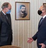 Президентът се срещна с германския посланик